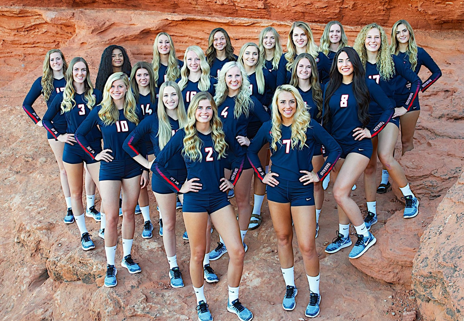 2017 Women S Volleyball Roster Dixie State University Athletics