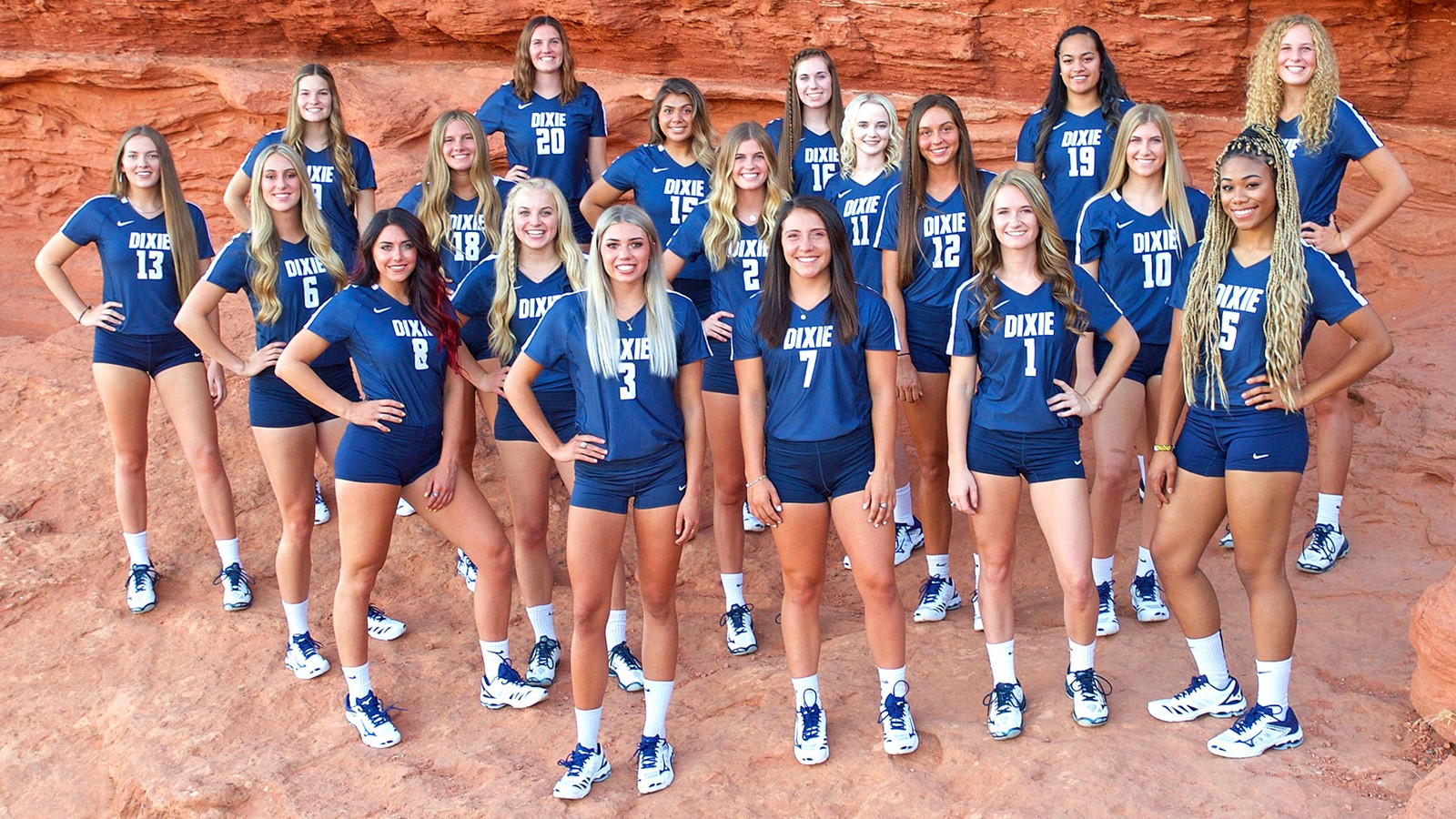 2019 Women S Volleyball Roster Dixie State University Athletics